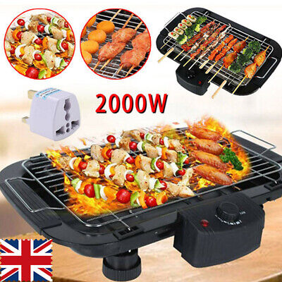 £20.99 • Buy Electric Teppanyaki Table Top Grill Griddle Hot Plate BBQ Barbecue Rapid Heating