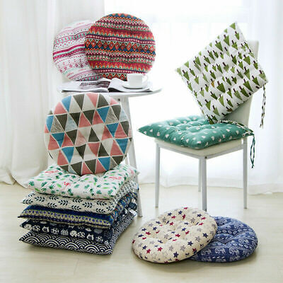 £3.81 • Buy Square Cotton Linen Chair Seat Pads Office Floor Pillow Thick Cushion Sofa Mat !