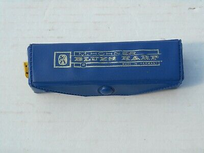 $19.99 • Buy  Vintage M Hohner Harmonica,Blues Harp Made In Germany Key C With Case