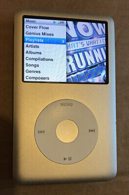 £31 • Buy Apple Ipod A1238 160gb Silver 7th Generation Classic *Ipod Only* LOOk!