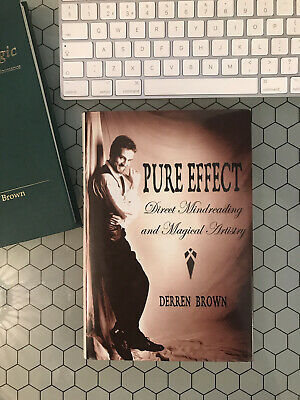 £129 • Buy Derren Brown Pure Effect Hard Back 3rd Edition - Excellent Condition