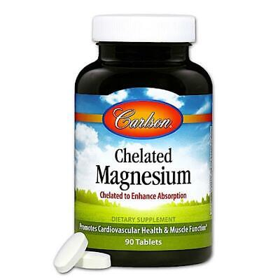 £9.84 • Buy Carlson Labs, Chelated Magnesium Gly, 90 Tablets