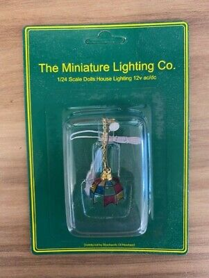 £4.99 • Buy 1:24 Scale Dolls House LTH45004 Tiffany Ceiling Wired Light Brand New