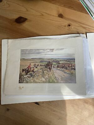 £40 • Buy Lionel Edwards Rare Early Print The Cotswold