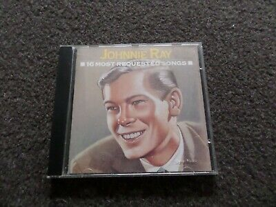 £3 • Buy Cd Album - Johnnie Ray - 16 Most Requested Songs