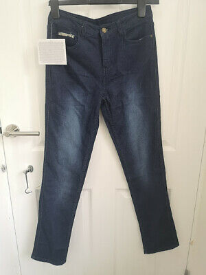 £7.95 • Buy Avon Jeanetic Blue Denim Jeans Size 10 Slim Leg - Brand New With Tags