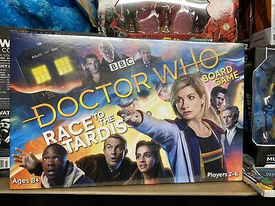 £9.40 • Buy Doctor Who Board Game, Race To The Tardis, BBC, New And Sealed!