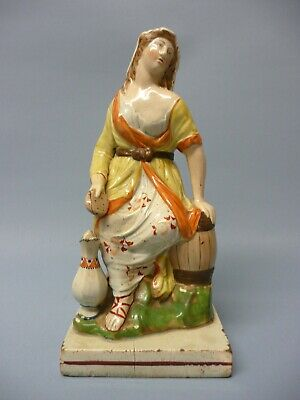 £56 • Buy Early 19th C Staffordshire, Pearlware Figure Of 'The Water Carrier', (24 Cm).