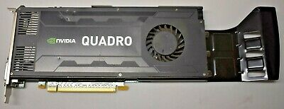 $ CDN12.17 • Buy Nvidia Quadro K4000 3gb Ddr5 Tested And Working