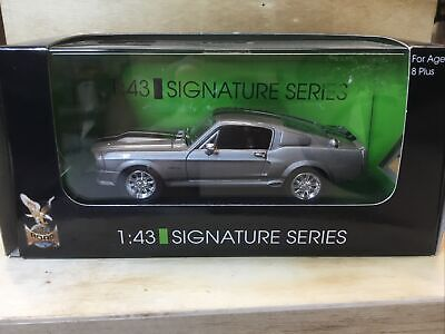 £15.80 • Buy 1:43 SIGNATURE SERIES 43202 - 1968 FORD MUSTANG GT 500 - Silver Mib