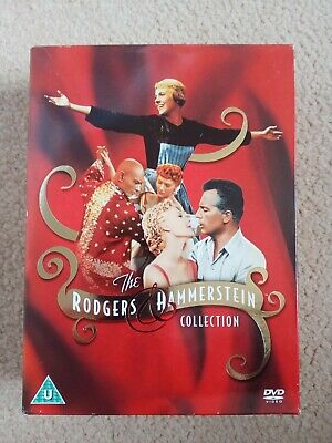 £4.95 • Buy The Rodgers And Hammerstein Collection 5 Dvd Set.