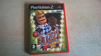 £4.99 • Buy Buzz! The Sports Quiz - Buzz Buzzers Ps2 Game - Fast Post - Complete With Manual