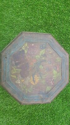 £5 • Buy Blue Bird Toffee Tin Large Octagonal Beautiful Colors.  Lovely Catch .