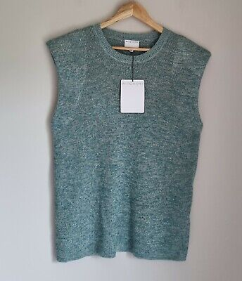 AU39.99 • Buy Witchery Muscle Fleck Knit Top Size M, 12,Green BNWT RRP $99.99
