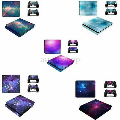 AU17.99 • Buy AU NEW Skin Stickers For PS4 Sony Playstation 4 Slim Console 2 Controller Decal