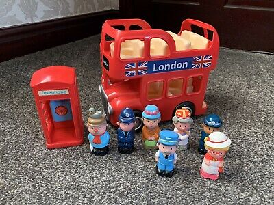 £17.99 • Buy Elc Happyland London Bus Set With Sounds And Figures