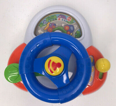 £4.99 • Buy Chad Valley Baby Driver Steering Wheel Baby Toy