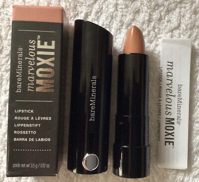 £4 • Buy Bare Minerals Marvelous Moxie Lipstick Full Size -  Be Free