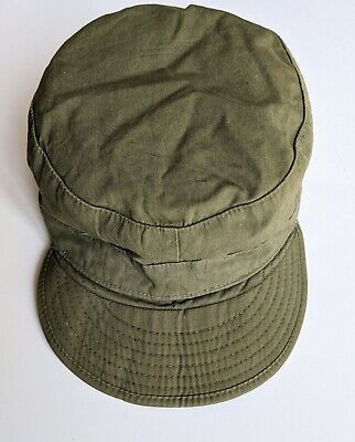 $28 • Buy Vintage US Army M-1951 Wool/Cotton Field Cap 1950s Military Hat