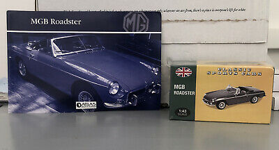 £19.99 • Buy Atlas 1/43 Scale - MG MGB Roadster - Diecast Model Car - Sealed With Booklet