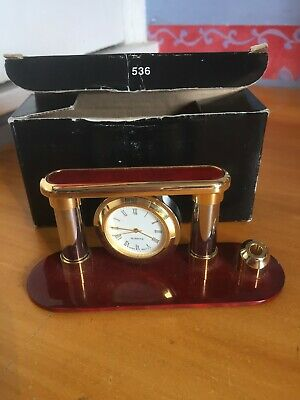 £9.99 • Buy 1990s Boxed Umpire Gift Cricket Stumps / Ball Clock Piece Oman National Electron