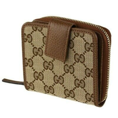AU477.82 • Buy Authentic Gucci GG Canvas Wallet - Brand New