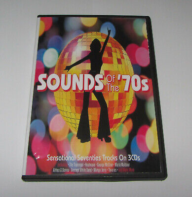 £6.99 • Buy Sounds Of The 70s 3xcd Boxset