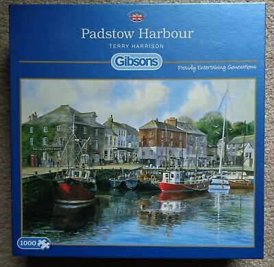 £1.99 • Buy Gibsons Jigsaw Puzzle - Padstow Harbour (1000 Pieces) Terry Harrison