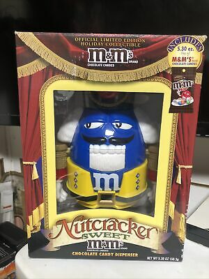 £17.74 • Buy M&M Nutcracker Limited Edition Blue Chocolate Candy Dispenser Official Release