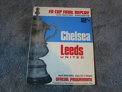 £2.99 • Buy 1970 FA Cup Final Replay Chelsea V Leeds United