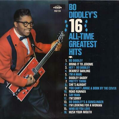 £21.44 • Buy BO DIDDLEY 16 All-Time Greatest Hits 1964 Or. HOLLAND Lp EX Vinyl & Cover!