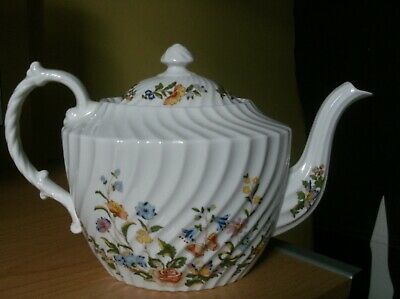 £40 • Buy Aynsley Cottage Garden Wryten Pattern Teapot - Clean  With No Damage