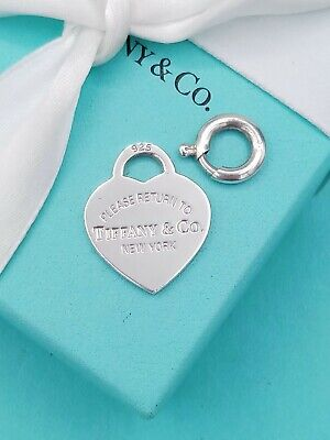 £99 • Buy Return To Tiffany & Co Silver Heart Pendant 4 Necklace And Bracelet + Jump Ring