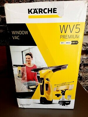 £19.99 • Buy Karcher WV5 Premium Rechargeable Battery Window Vacuum With Accessories