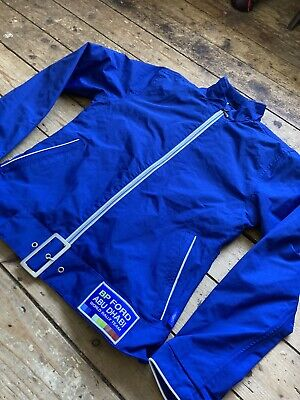 £14 • Buy BP Ford ABU DHABI Rally Jacket Official Blue Rare Jacket (SMALL)