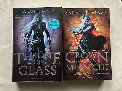 $0.99 • Buy Throne Of Glass And Crown Of Midnight By Sarah J Maas Paperbacks