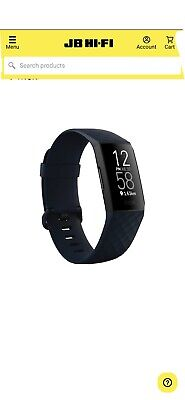 AU130 • Buy Fitbit Charge 4 In Storm Blue