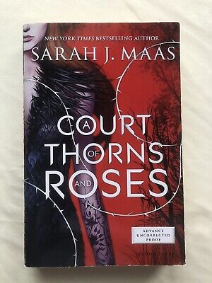 $950 • Buy A Court Of Thorns And Roses ARC By Sarah J Maas 2015 Uncorrected Proof