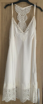 £21 • Buy Ted Baker BNWT Tie The Knot Night Dress Ivory Size 12