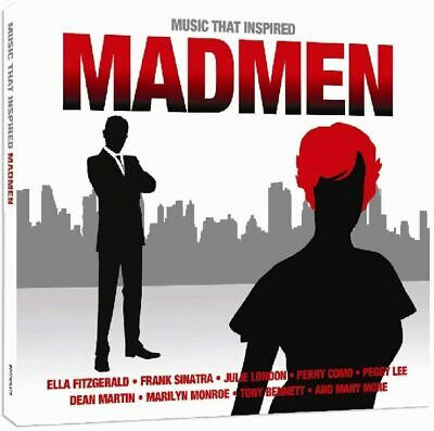 £4.99 • Buy Music That Inspired Madmen 2-CD NEW SEALED Dean Martin/Vic Damone/Nat King Cole+