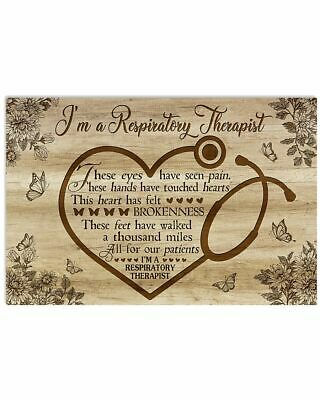£15.08 • Buy I'm A Respiratory Therapist Wall Decor Poster No Frame