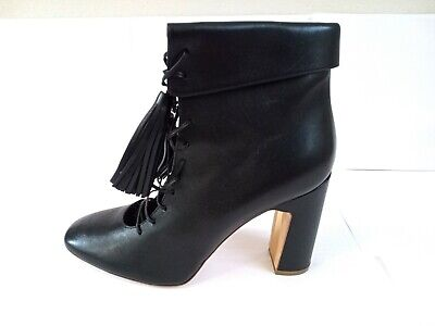 £92.31 • Buy RUPERT SANDERSON BLACK LEATHER ANKLE BOOTS SIZE 40 BRAND NEW Rrp£800!