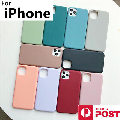 AU8.99 • Buy For IPhone 12 11 Pro Mini XS Max XR X 8 7 Plus SE Case Silicone Shockproof Cover