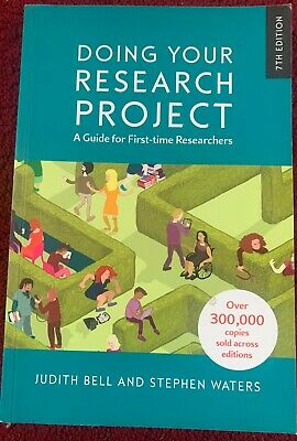 £20 • Buy Doing Your Research Project A Guide For First Time Buyers 7th Edition