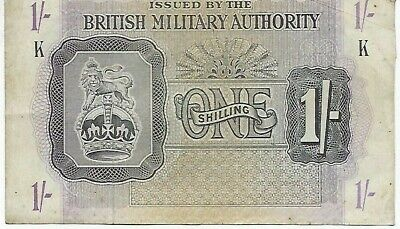 £10 • Buy British Military Authority 1/- Shilling Banknote