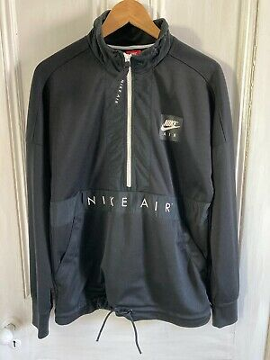 £7.99 • Buy Nike Air ½ Zip Black Track Top Size Small. Great Condition.