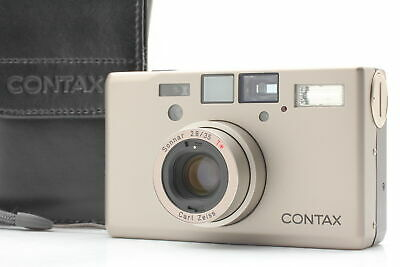 $ CDN2739.10 • Buy [MINT In Case] Contax T3 Double Teeth 35mm Point & Shoot Film Camera From JAPAN