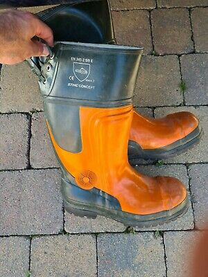 £35 • Buy Stihl Concept Chainsaw Safety Boots Size UK 13 EU 48 Class 2
