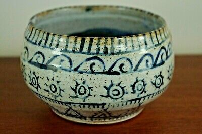£24.99 • Buy Unusual Studio Pottery Bowl - Marked & Dated