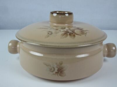 £15 • Buy Vintage Denby Memories Stoneware Casserole Dish With Lid (2)